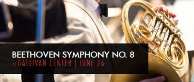 Beethoven Symphony No. 8 at Gallivan Center