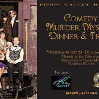 Comedy Murder Mystery Dinner and Train