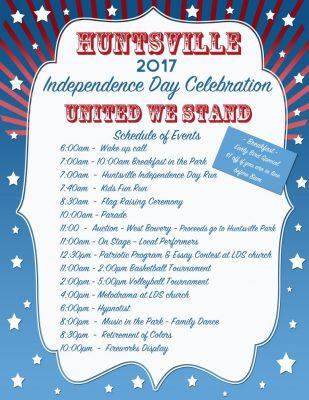 Huntsville Independence Day Celebration 2017