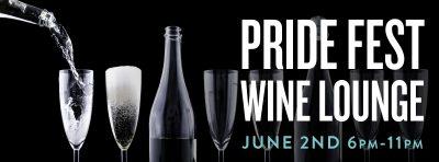 The Leonardo Pride Fest Wine Lounge