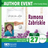 Author Ramona Zabriskie