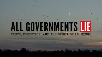 Film Screening: All Governments Lie
