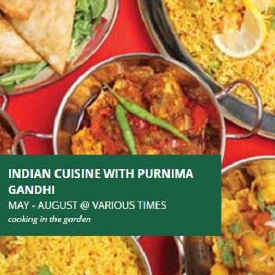 Indian Cuisine with Purnima Gandhi