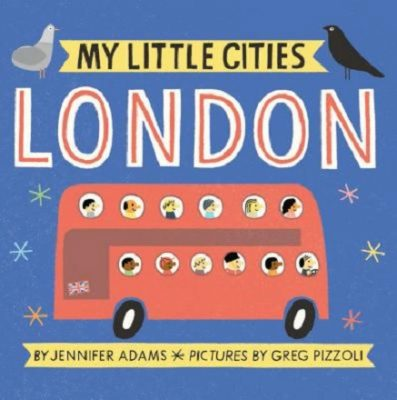 Jennifer Adams: My Little Cities
