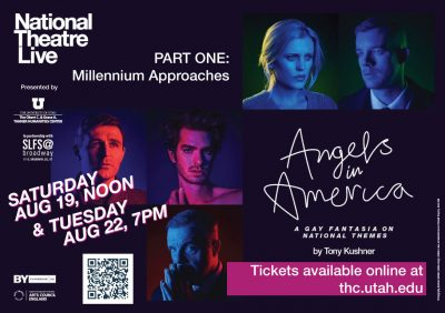 """National Theatre Live Presents """"Angels in America Part One: Millennium Approaches"""""""