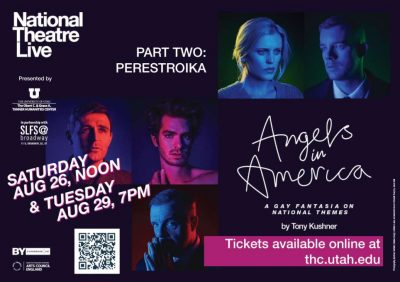 """National Theatre Live Presents """"Angels in America Part Two: Perestroika"""""""