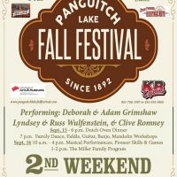 Panguitch Lake Fall Festival 2017