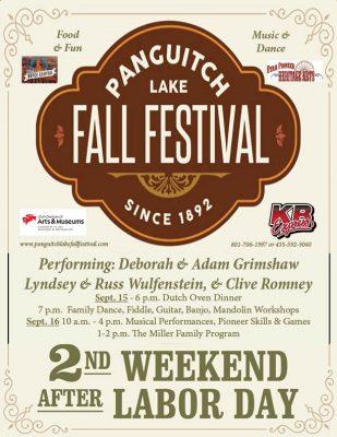 Panguitch Lake Fall Festival 2017