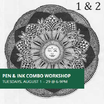 Pen and Ink Combo Workshop