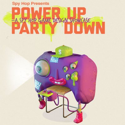 Power Up, Party Down! A Spy Hop Game Design Showcase