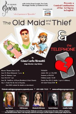 Saint George Opera: The Old Maid and the Thief and The Telephone