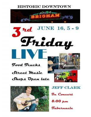 Third Friday LIVE music