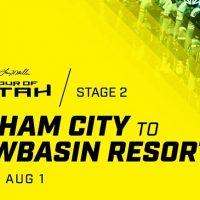 Tour of Utah Stage 2 Finish