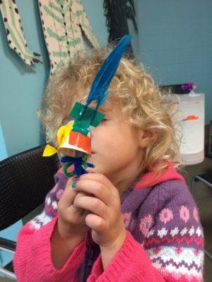 UMOCA Family Art Saturday: Cloud-Seeding Paper Airplanes