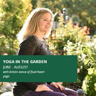 Yoga in the Garden - Session 3