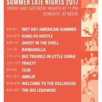 Summer Late Nights 2017