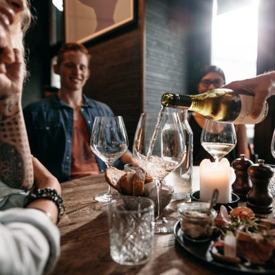 Wine Education Class at Cliff Dining Pub