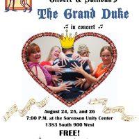 """The Grand Duke"" by Gilbert and Sullivan - in concert"