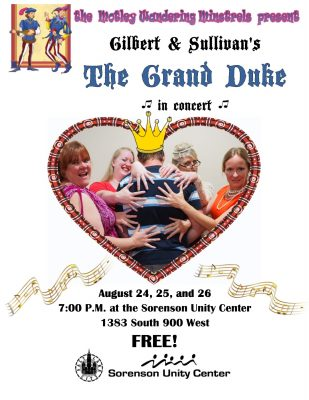"""The Grand Duke"" by Gilbert and Sullivan - in conc..."