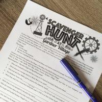 Historical Scavenger Hunt at Gardner Village