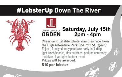 LobsterUp Down the Ogden River