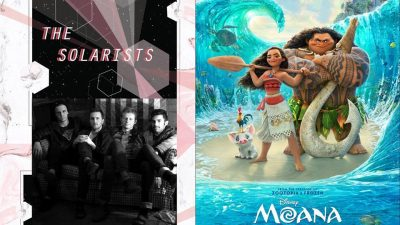 Music and Movie in the Park (Magna) with film Moana, and band The Solarists