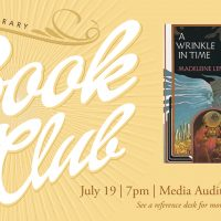 Orem Library Book Club: A Wrinkle in Time