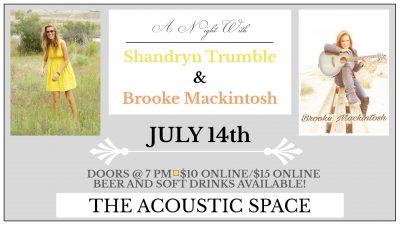 Shandryn Trumble & Brooke Mackintosh