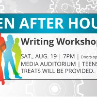 Teen After Hours Night: Writing Workshop