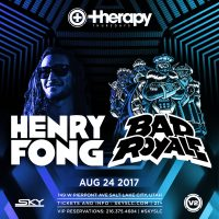 Therapy Thursdays: Henry Fong + Bad Royale