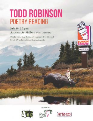 Todd Robinson Poetry Reading