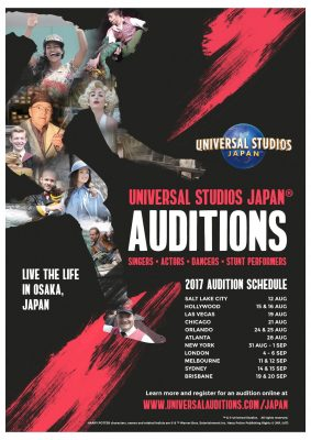 Universal Studios Japan® 2017 Auditions!