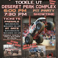 Monster Truck INSANITY Tour in Tooele!