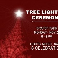 Draper Tree Lighting Ceremony 2017