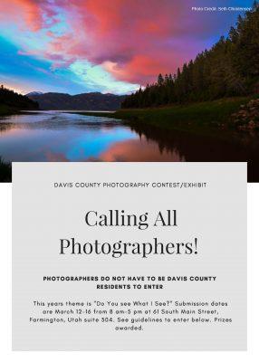 Davis County Photography Exhibit/Contest