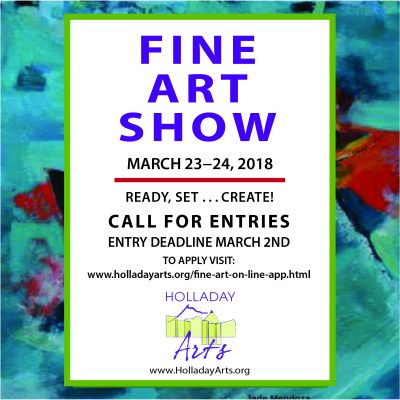 Call for Entries Holladay Arts Council