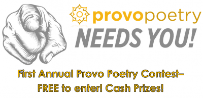 1st Annual Provo Poetry Contest! FREE to enter!