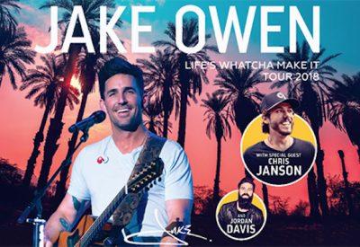 Life's Whatcha Make It Tour featuring Jake Owen