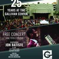 The Gallivan Center's 25th Anniversary Concert with Jon Batiste