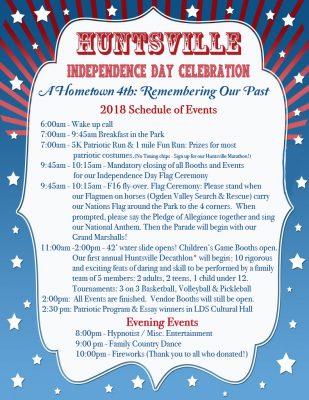 Huntsville Independence Day Celebration