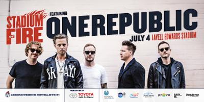 2018 Stadium of Fire with OneRepublic