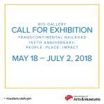 Rio Gallery Call for Exhibition - Transcontinental Railroad