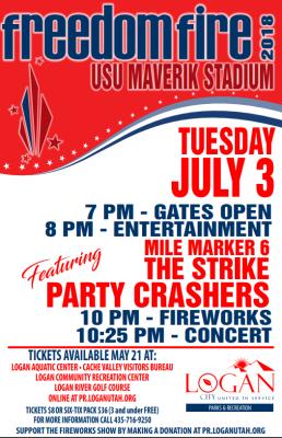 2018 Freedom Fire Celebration and Fireworks Show