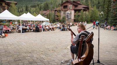Sunday Music in Solitude Village
