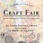 """Craft Fair - """"A Show of Talent"""""""