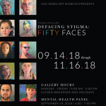 (Fiona Phillips) Fifty Faces: Defacing Stigma
