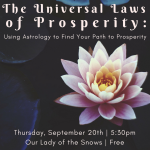 The Universal Laws of Prosperity: Using Astrology to Find Your Path to Prosperity