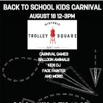 Back to School Kids Carnival