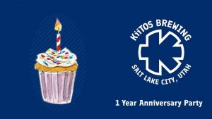 Kiitos Brewing 1 Year Anniversary Party