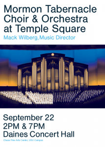 Mormon Tabernacle Choir & Orchestra at Temple ...
